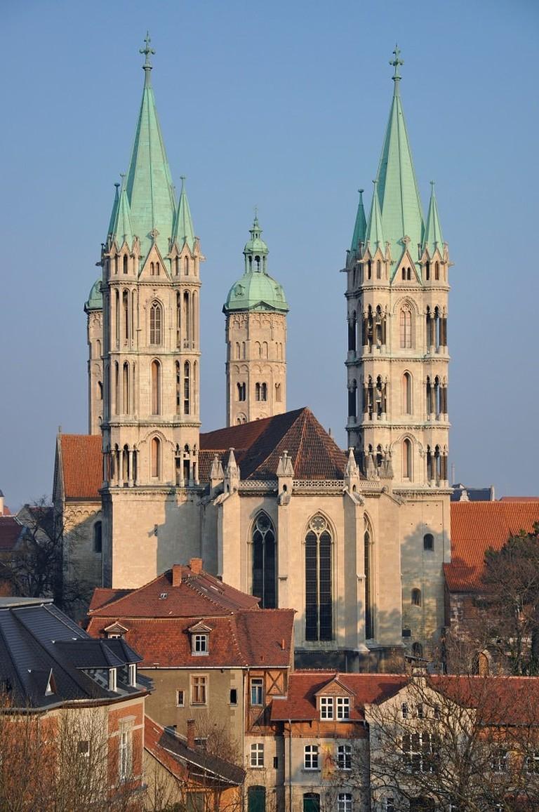 Naumburg, cathédrale et choeur Ouest