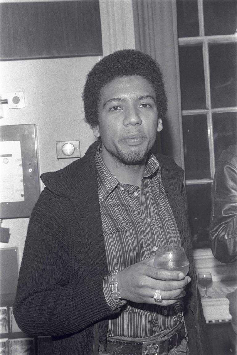 Steve Barnard (first black BBC radio presenter with a reggae music show) © Neil Kenlock