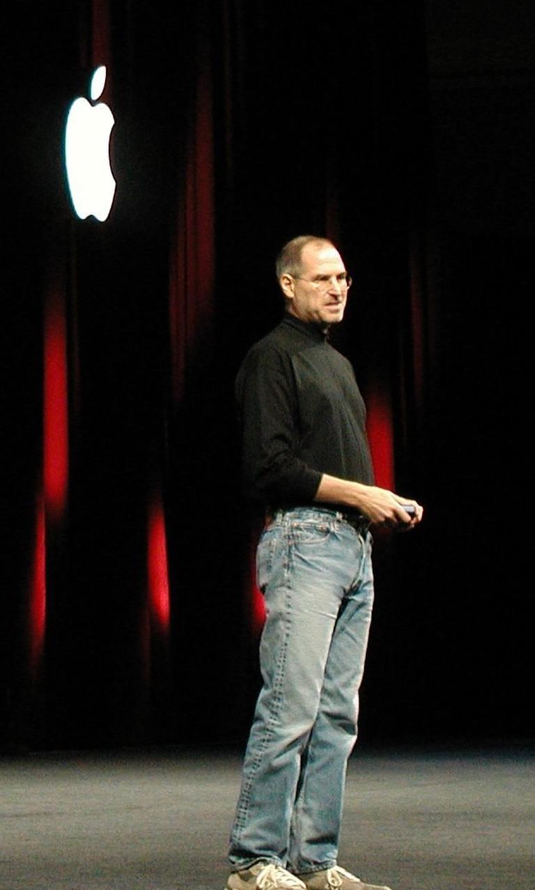 Steve Jobs in 2005