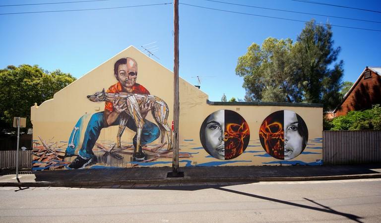 Street art in Newtown © JAM Project / Flickr