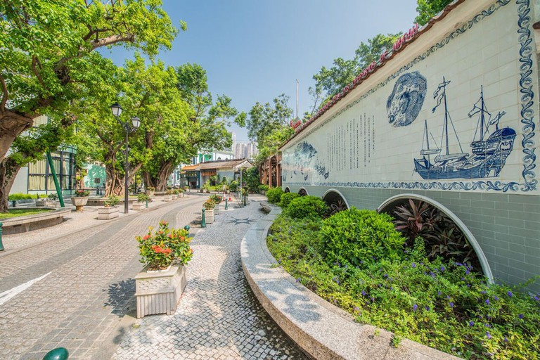 Lose yourself in one of the many secret gardens in Taipa Village