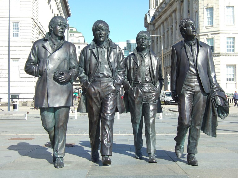 The Beatles statues, Liverpool