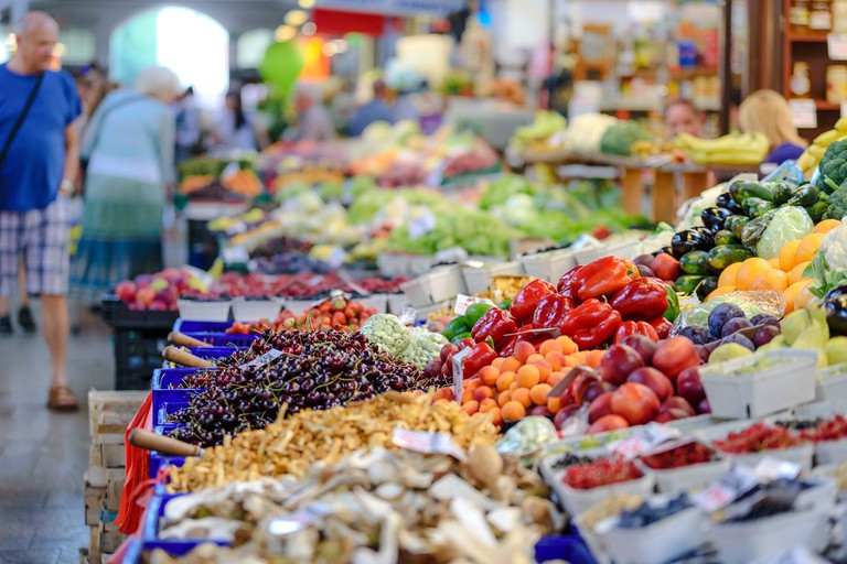 Picking out your fruit and veggies one by one is a Cypriot delight