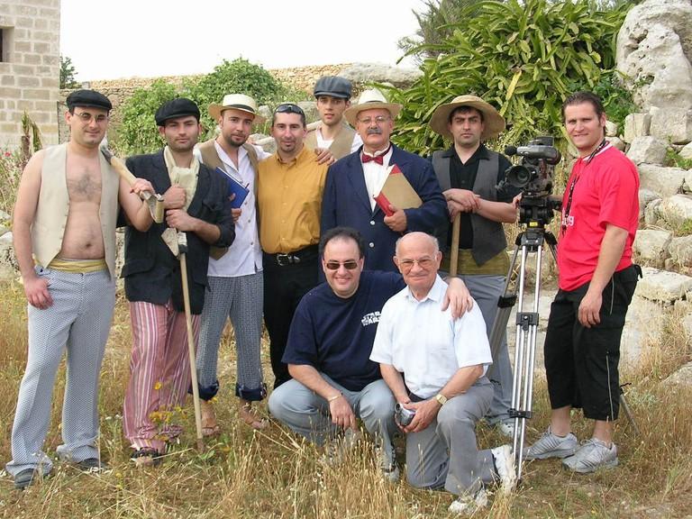 The Tal Qadi Stone team