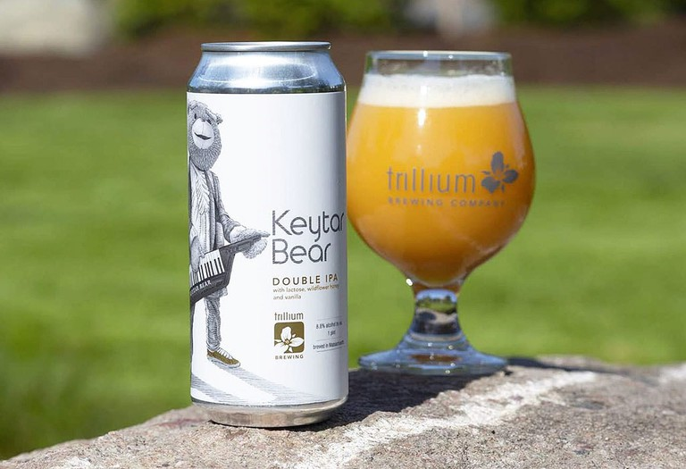 Trillium Brewing Company Releases A Double-IPA Beer Dedicated To Keytar Bear