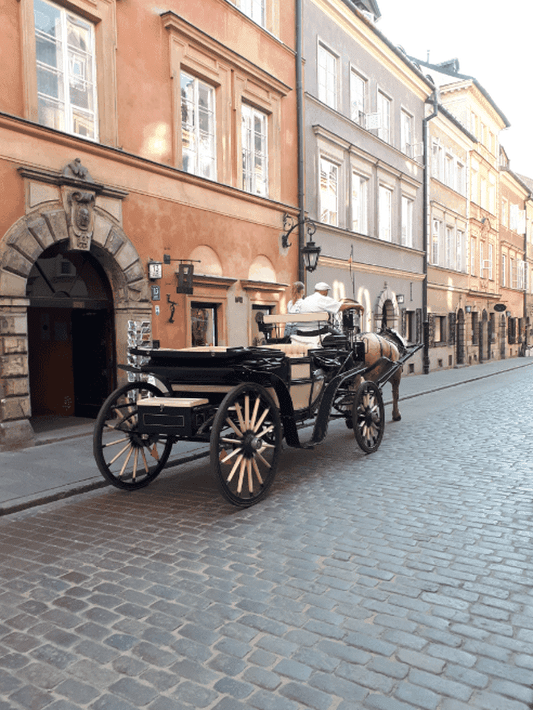 Ulica Piwna Horse and Carriage