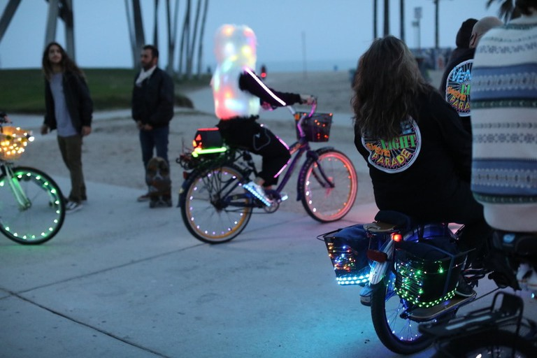 Electric-LED-Bicycle-meetup