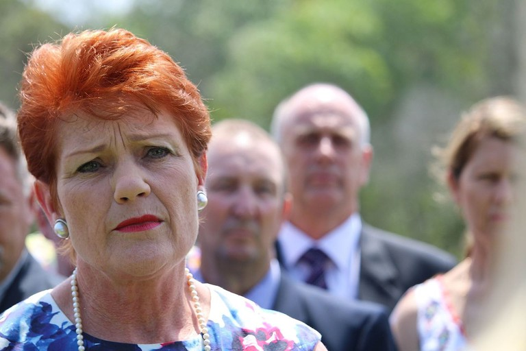 Well-known bogan nuffy, One Nation politician Pauline Hanson © jfish92 / Wikimedia Commons