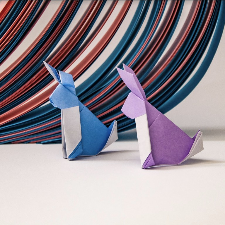 Origami Rabbits by Ross Symons
