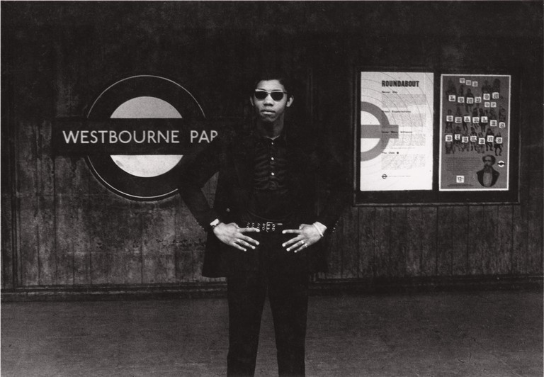 11) Charlie Phillips, Westbourne Park Tube Station, London 1967
