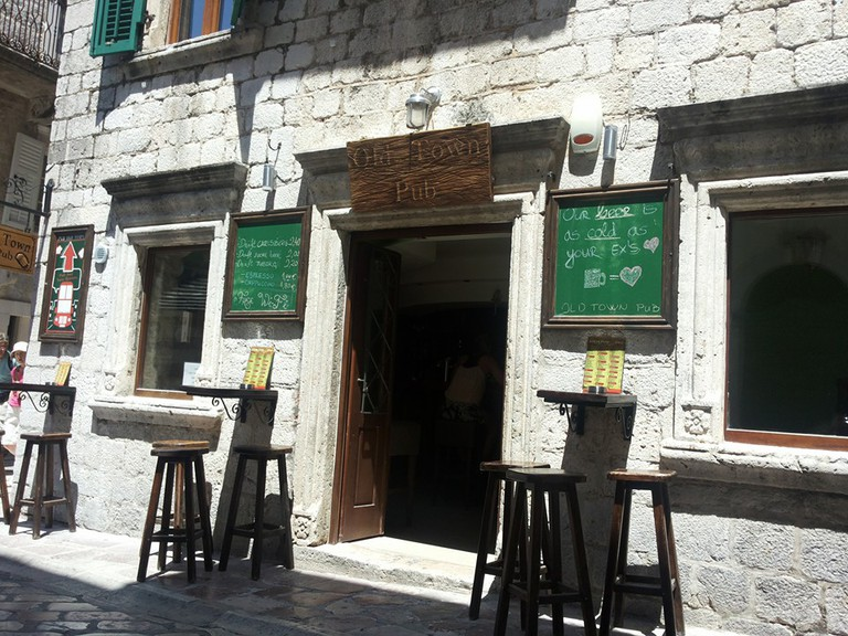 Old Town Pub is a great night out option when in Kotor, Montenegro