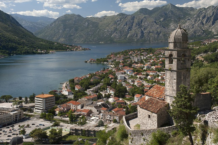 The beautiful Bay of Kotor