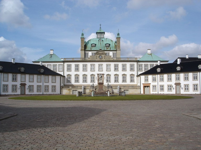 Fredensborg Castle is the Queen's spring and autumn residence