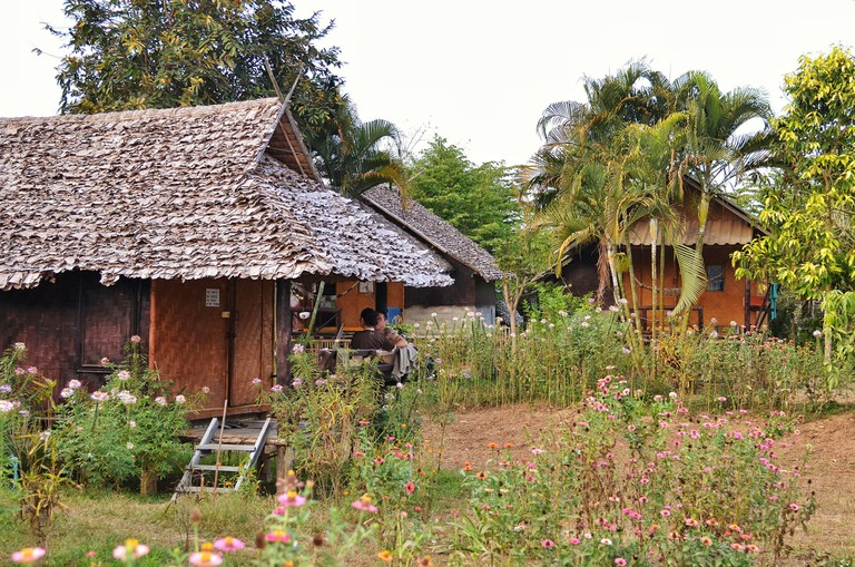 Rustic accommodation in Mae Hong Son