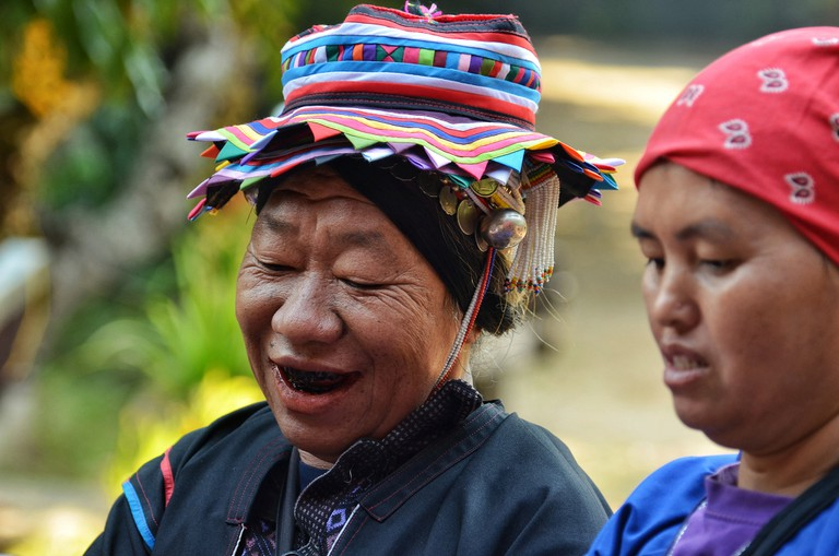 Hill tribes in Mae Hong Son