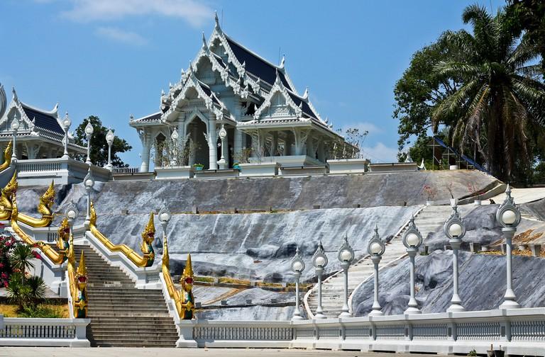 Beautiful temple in Krabi