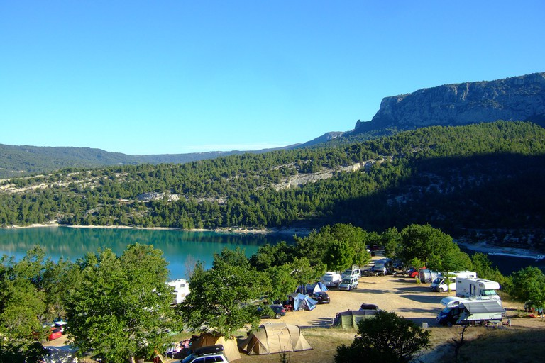 Camping in Provence