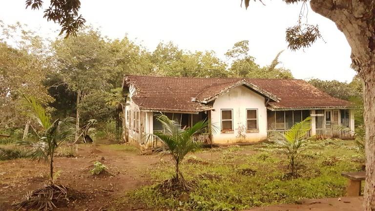 American-style home in Fordlandia, Brazil