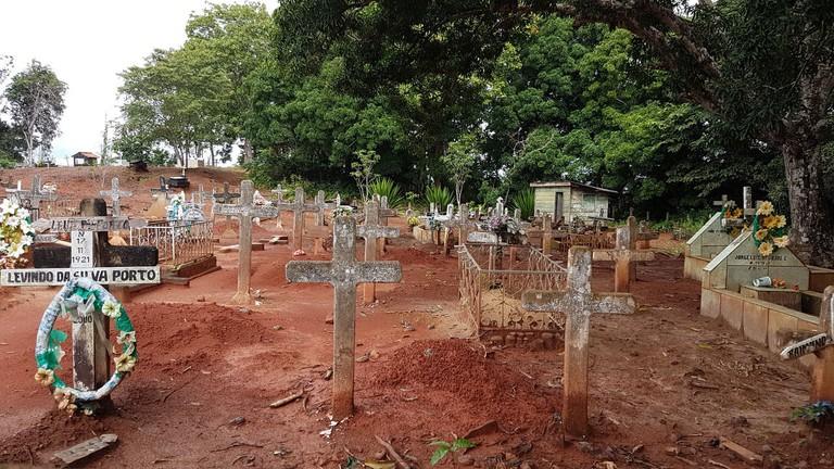 Cemetery in Fordlândia, Brazil