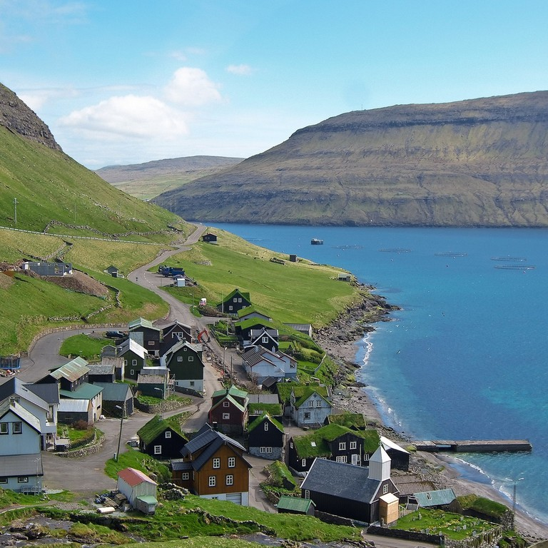 There is no place further than five kilometres from the ocean at the Faroe Islands