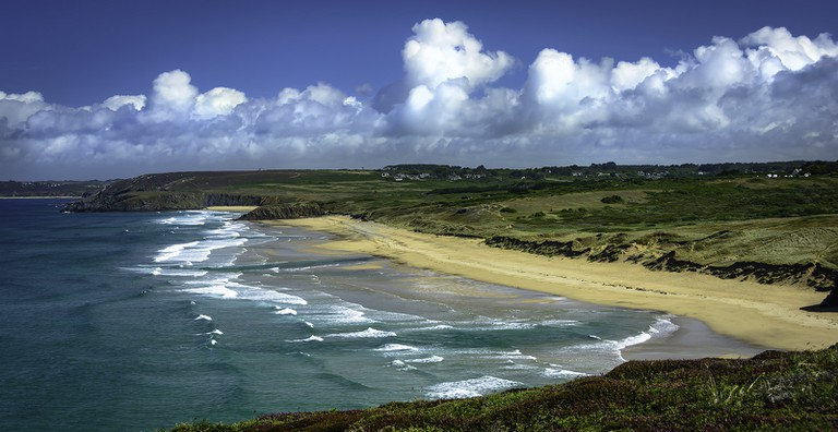 The wilderness of the Breton coastline