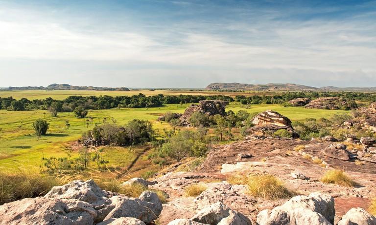Views from Ubirr in Kakadu National Park