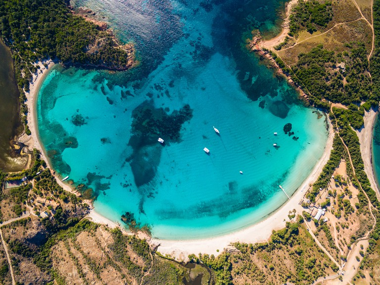 Rondinara beach in Corsica, France | © Samuel Borges Photography / Shutterstock