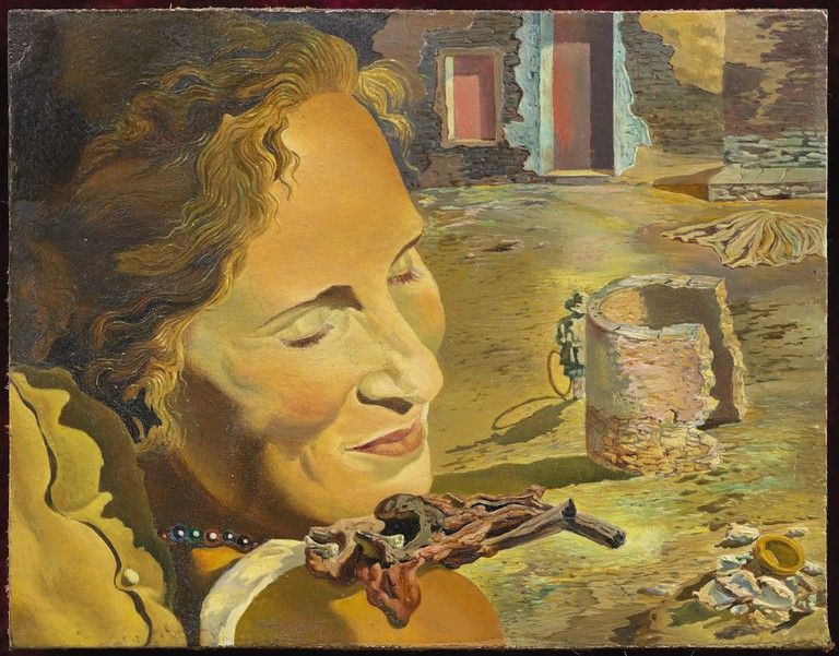 Portrait of Gala by Salvador Dali