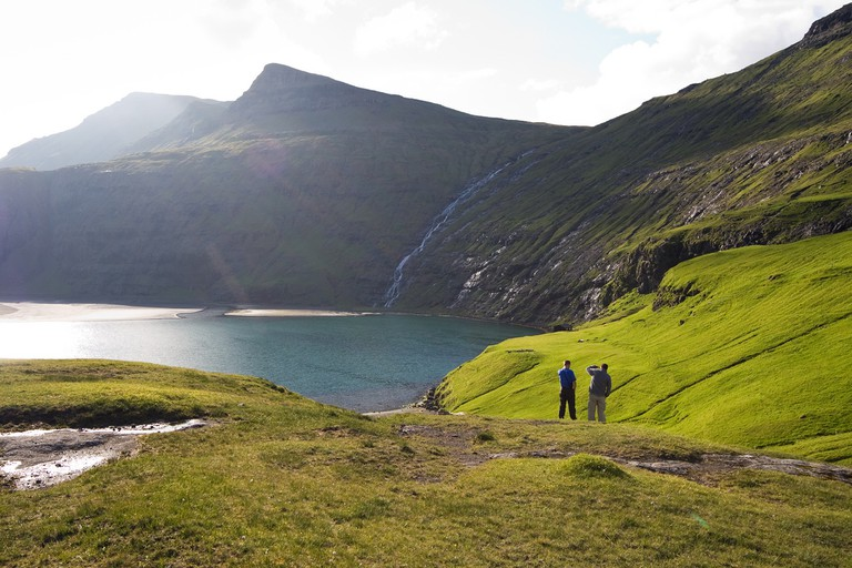 There are more than 20 hiking routes at the Faroe Islands