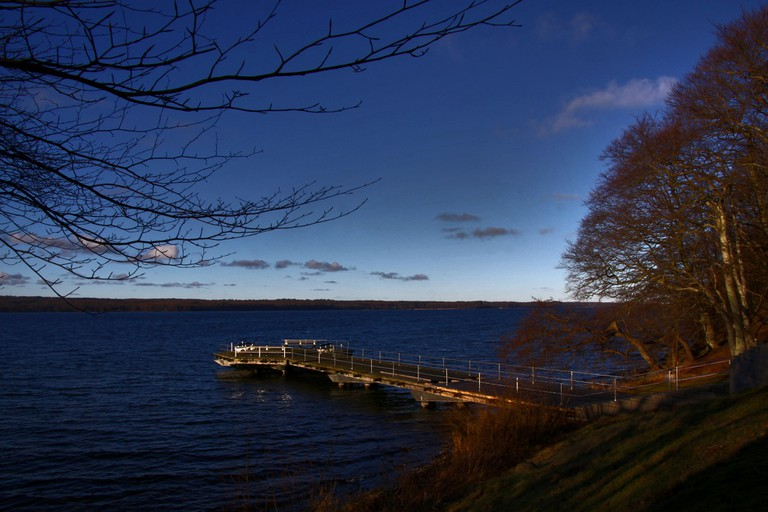 Esrum Lake is the second largest lake in Denmark