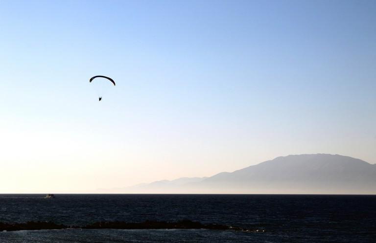 Paragliding in Zakynthos
