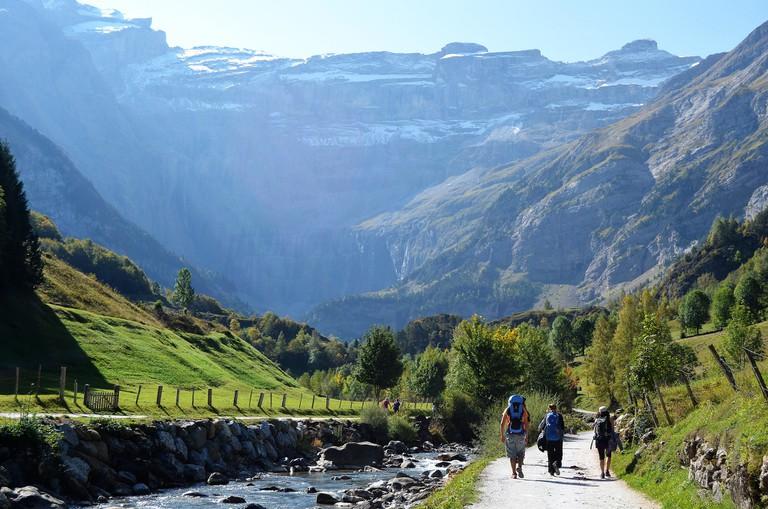 La route du Cirque in the Pyrenees
