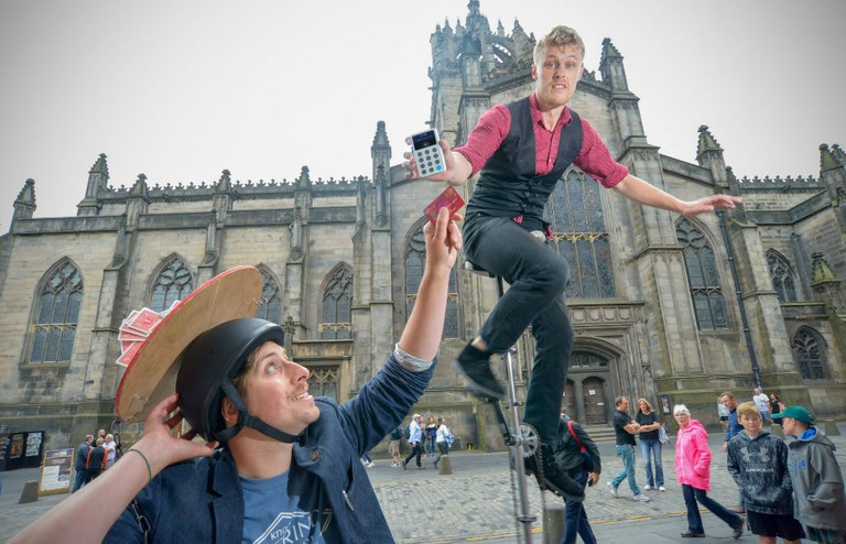 Contactless Tipping Comes To The Edinburgh Festival Fringe