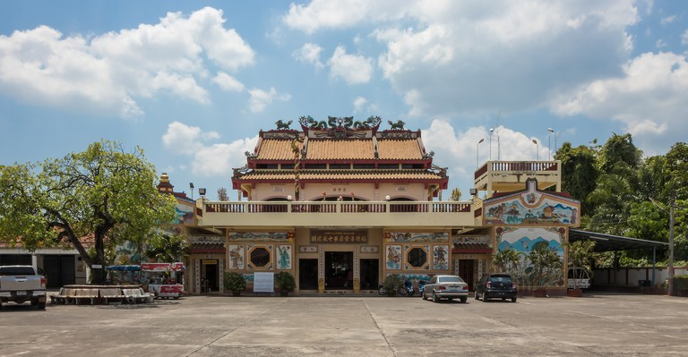 Chinese temple in Krabi