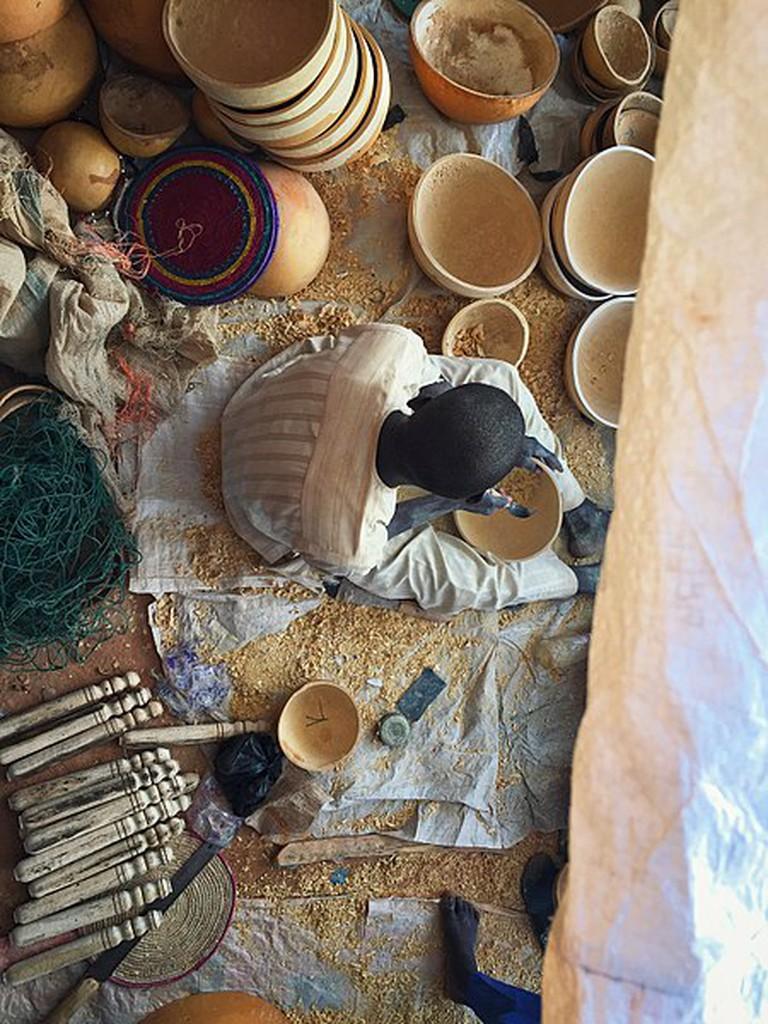 450px-Hausa_craftsman