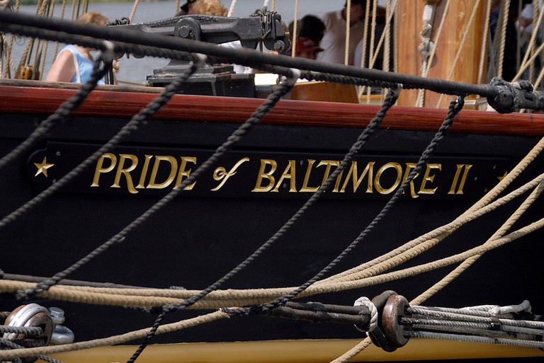 Pride of Baltimore II, historic ships, Baltimore, Maryland