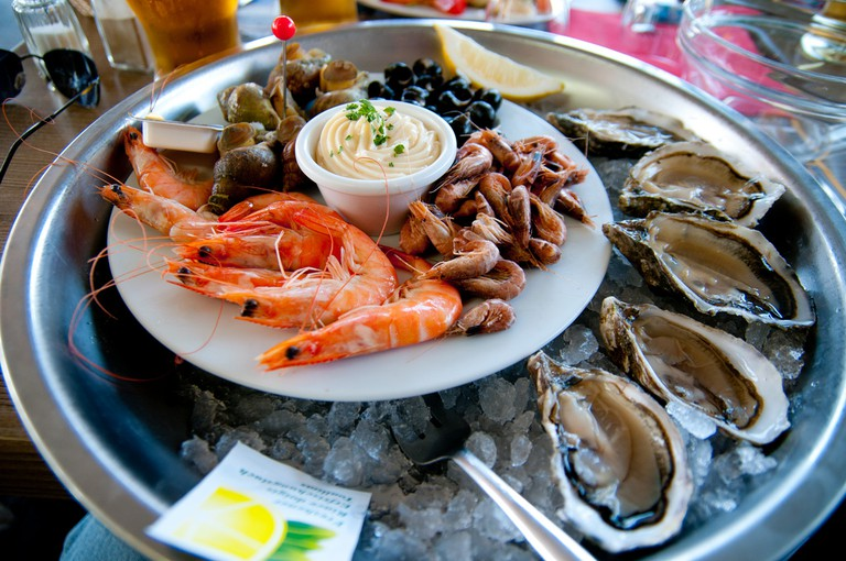 Seafood platters to die for along the French coastlines