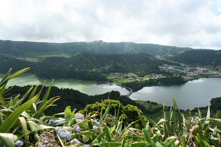 São Miguel is one of the beautiful islands that make up the Azores
