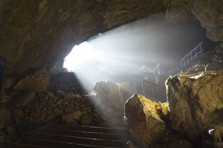 The light at the end of the tunnel at Resavska Cave, Serbia