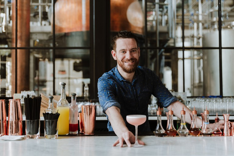 Beverage Director Michael Haggerty (Credit Eric Ashleigh)