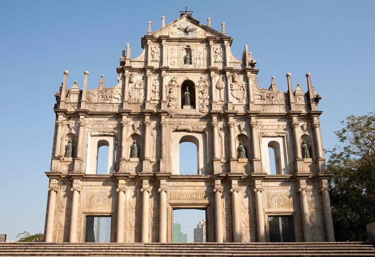 The Ruins of St. Paul's, Macau.