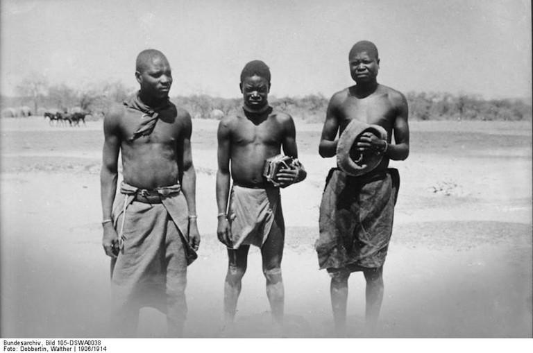 Deutsch-S¸d-Westafrika, Ovambo-M‰nner