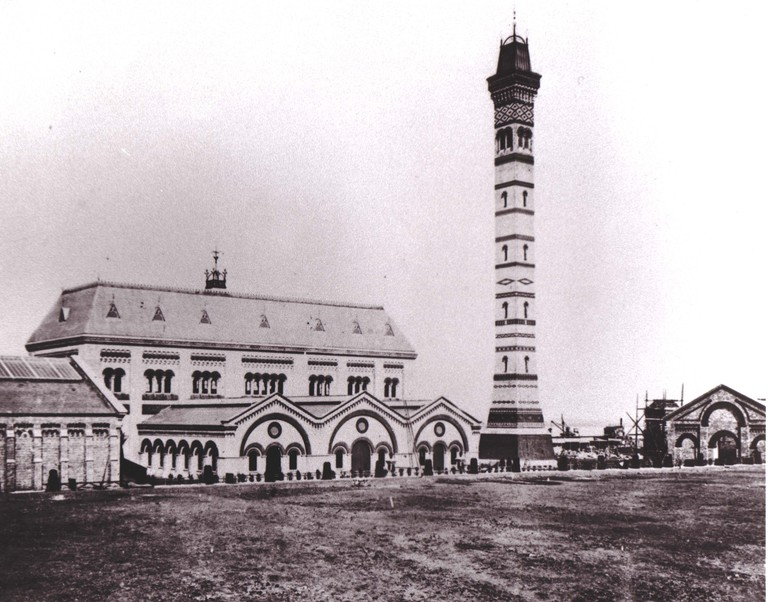 Crossness site - 1860s
