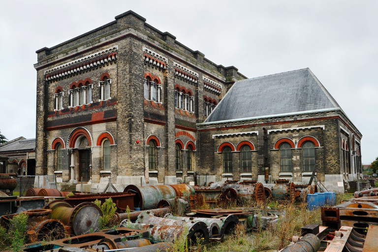 Crossness Victorian Pumping Station, South London, UK