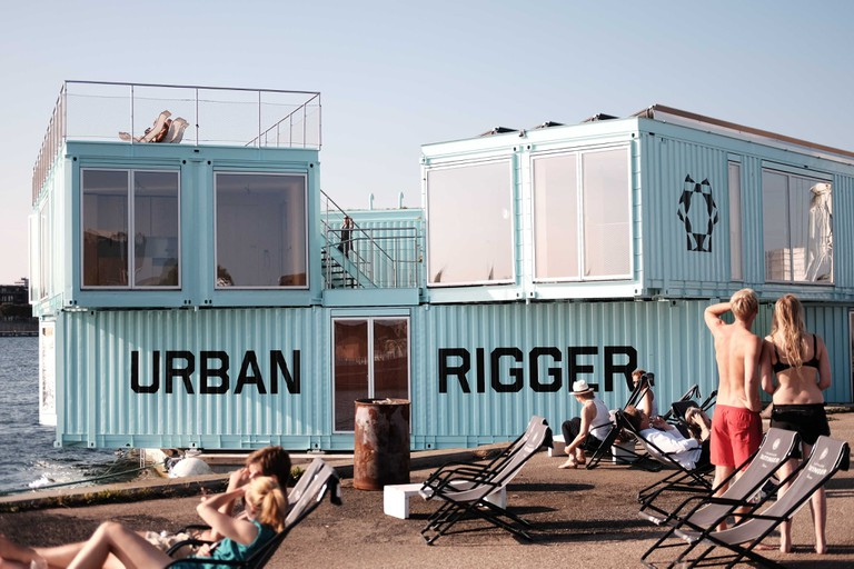URBAN RIGGER- floating student residence