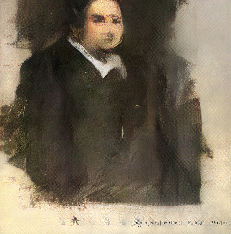 'Portrait of Edmond Belamy' (2018)
