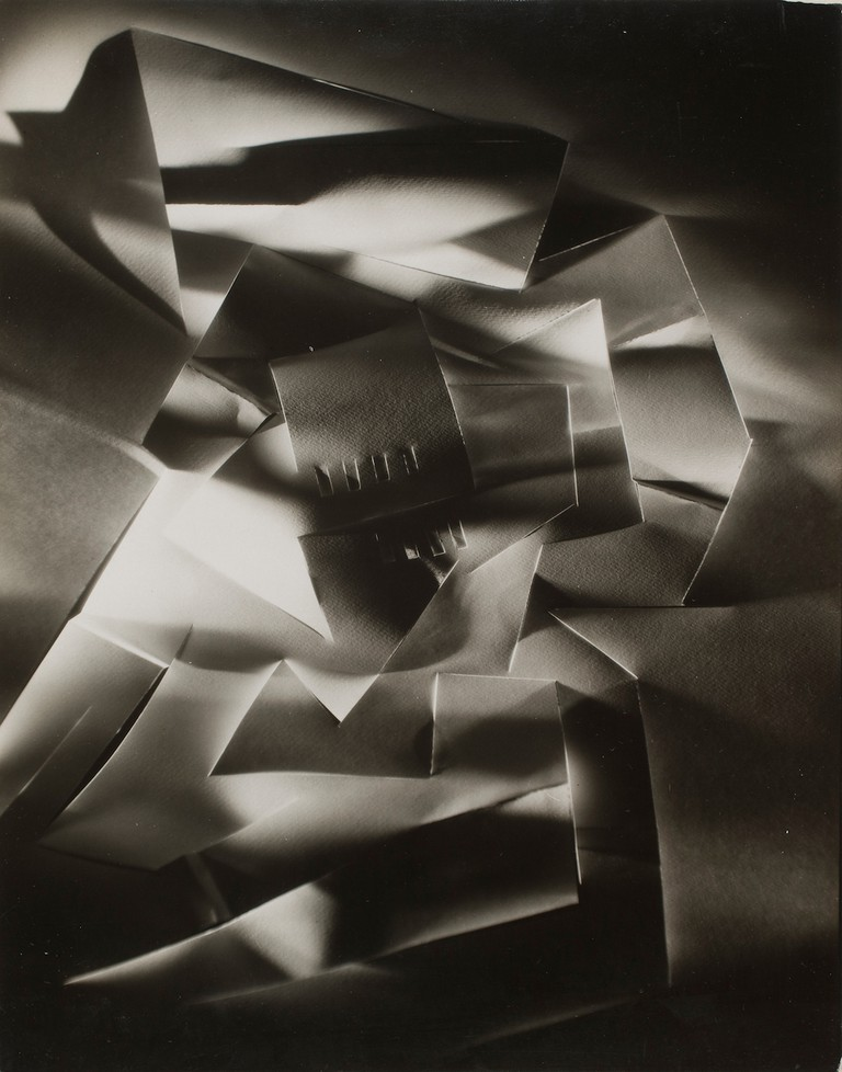 Francis Bruguière 'Cut-paper Abstraction' (ca. 1926)