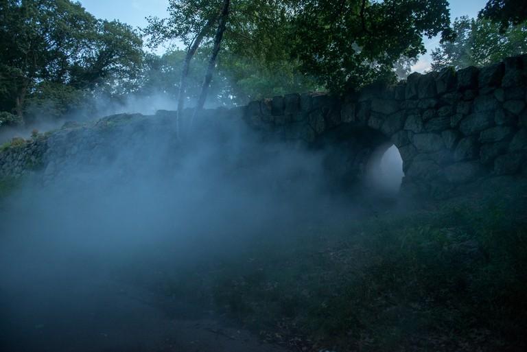 Franklin Park - _Fog x FLO's Fog x Ruins_ by Melissa Ostrow 1