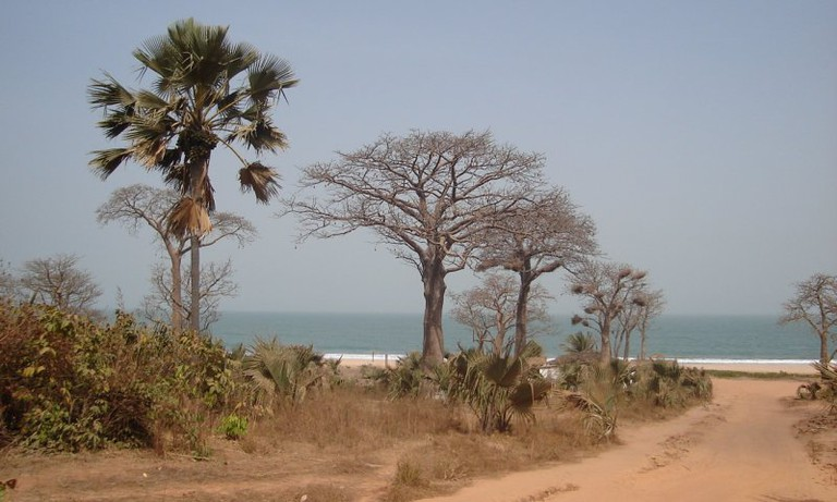 Gambia in March