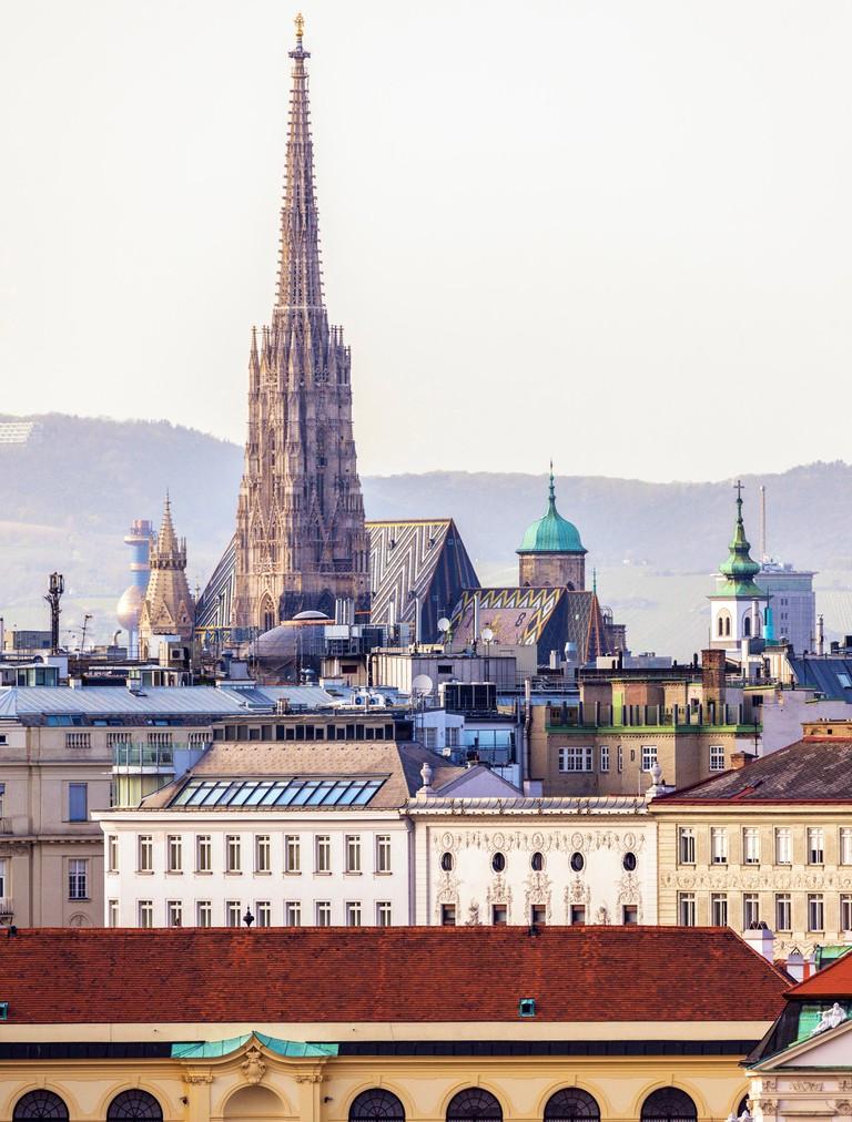 St. Stephen's Cathedral. Vienna, Austria.